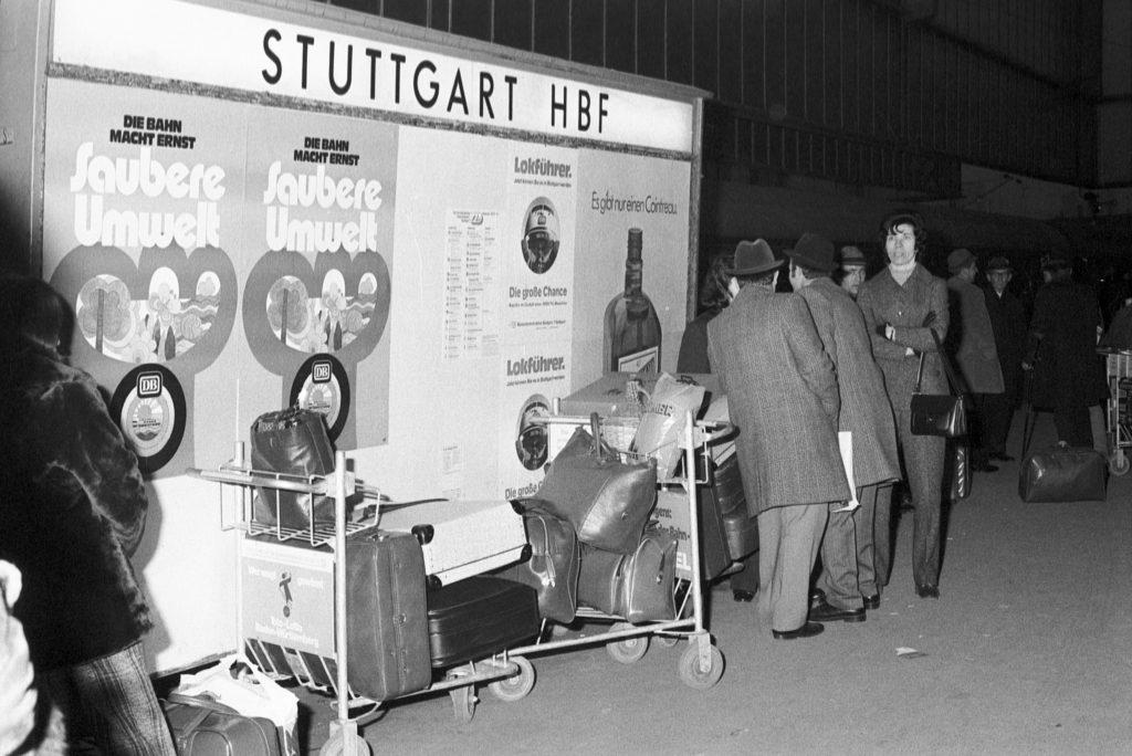 Gastarbeiter at Stuttgart Main Train Station