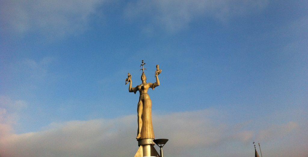 Statue of Imperia, Lake Constance