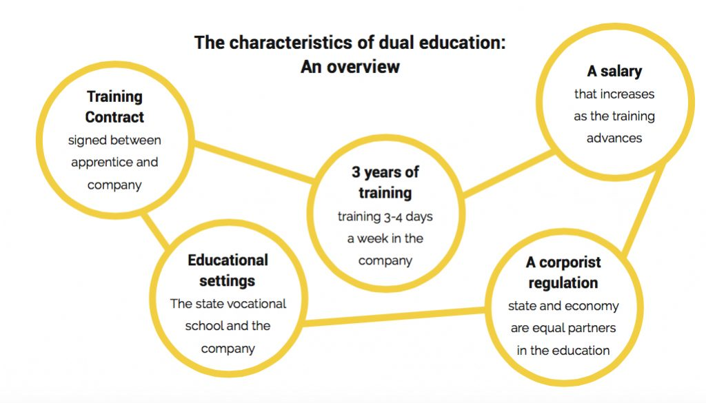 The characteristics of dual studies
