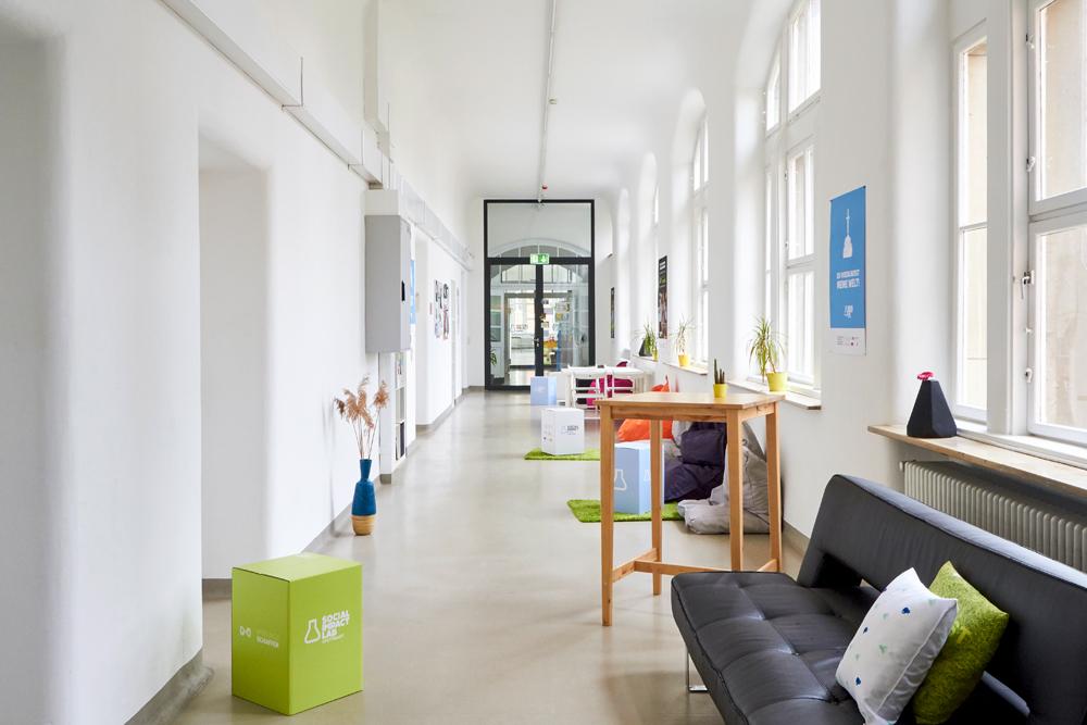 Social Impact Lab; interior design; Stuttgart 17.11.2017