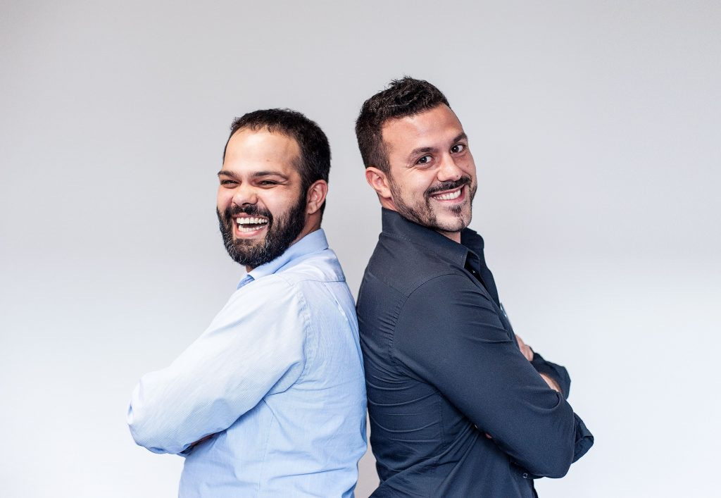 The founders of smoope Mandal and Hatziioannou
